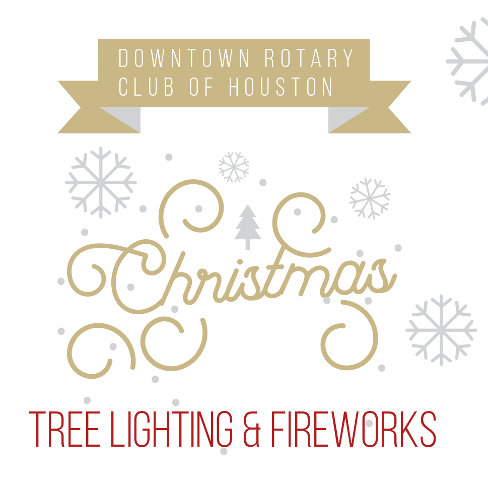 2019 Thanksgiving Day Uptown Houston Holiday Tree Lighting & Fireworks