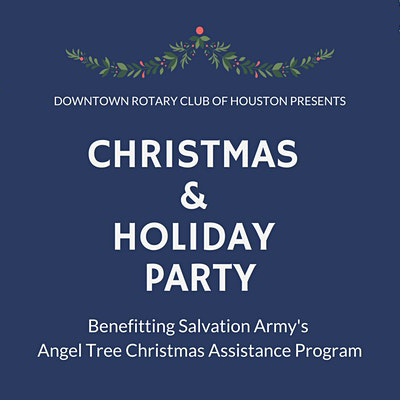 2020 Downtown Rotary Christmas and Holiday Party