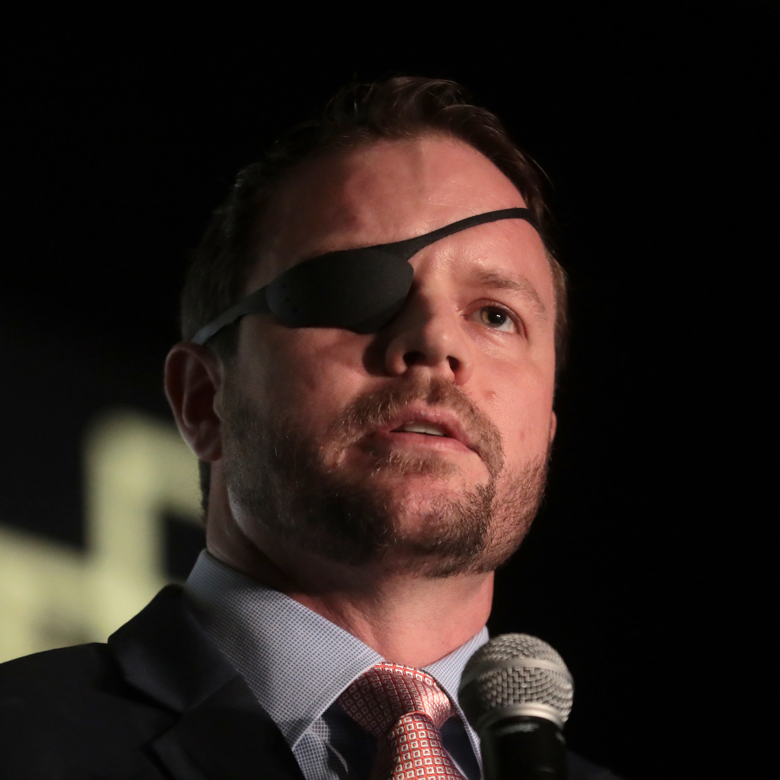 Dan Crenshaw, Texas 2nd District Congressman and Retired Navy Seal Lt. Commander