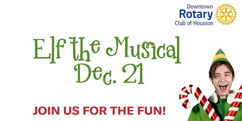 Downtown Rotary for TUTS Presents Elf the Musical
