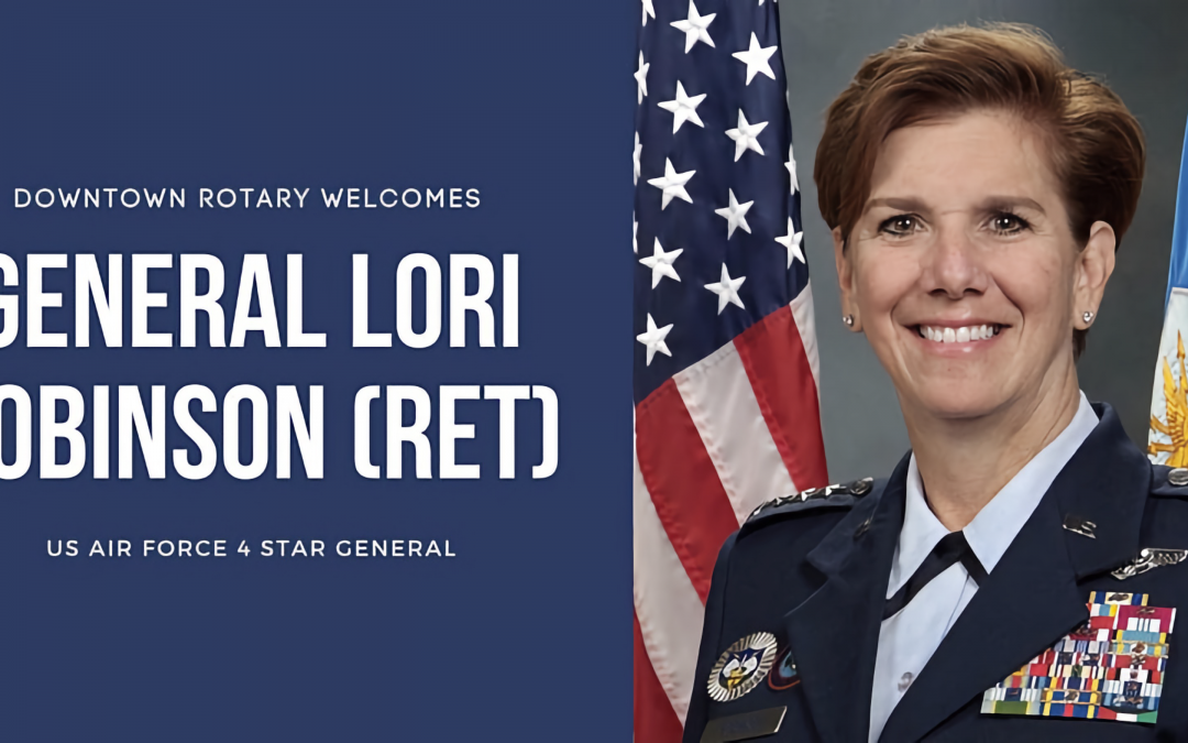 Salute to Veterans with United States Air Force 4-Star General Lori Robinson (RET) – November 3, 2021